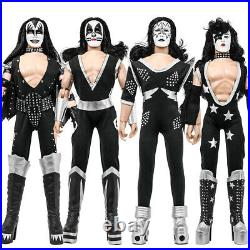 KISS 12 Inch Action Figures Alive Re-Issue Series Set of all 4 Loose