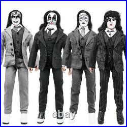 KISS 12 Inch Action Figures Dressed To Kill Re-Issue Series Set of all 4 Loose
