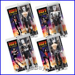 KISS 12 Inch Action Figures Series 7 Destroyer Set of all 4