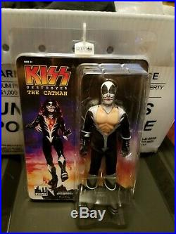 KISS 12 Inch Action Figures Series 7 Destroyer Set of all 4 NIP Free Shipping