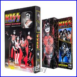 KISS 12 Inch Action Figures Series 9 Love Gun Set of all 4