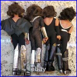 KISS 1977 MEGO dolls set of 4 all original