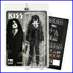KISS 8 Inch Action Figures Dressed To Kill Re-Issue Series Set of all 4
