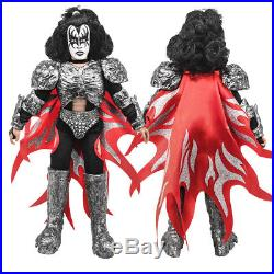 KISS 8 Inch Mego Style Action Figures Series Eight Dynasty Set of all 4