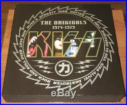 KISS The Originals 1974-1979 JAPAN 11 Color LP BOX Complete Set with All Inserts