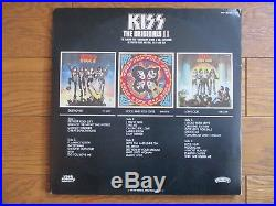 KISS The Originals 2 JAPAN 3 LP Complete Set with OBI 4 Mask all insert VIP-5504/6