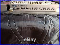 KORG RADIAS Synthesizer/Vocoder Full Set All Original PERFECTO W Carry Case