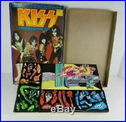 Kiss Aucoin 1979 Colorforms Set Original Box All Unused Pieces No Instuctions