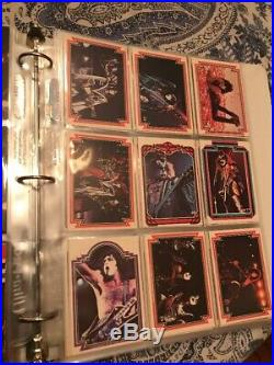 Kiss Cards ALL 3 Series Sets COMPLETE. Real Nice. 198 Cardswithbinder
