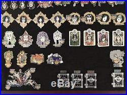 Kiss Framed Hrc Pin Lot #4 Pin Sets Covering 2006 2007 60 Pins In All