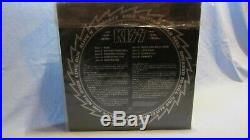 Kiss Originals Japan Very Rare! All On Color Vinyl! Complete Set With Inserts