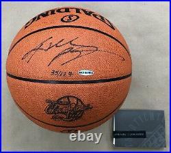 Kobe Bryant Ultimate ALL 5 Championship Autographed Ball Set Upper Deck & Panini