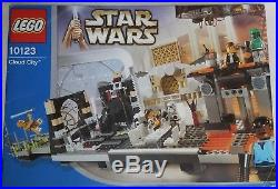 LEGO 10123 CLOUD CITY Star Wars COMPLETE with ALL minifigs & original manual