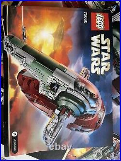 LEGO 75060 Star Wars Slave I Original Box, All figures, and Instructions