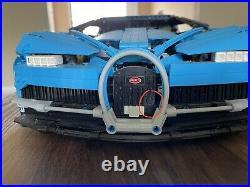LEGO Bugatti Chiron all-built NO Original Box