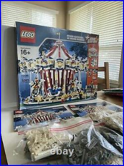 LEGO Creator Grand Carousel (10196) Fully Functional, 100% all original pieces
