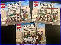 LEGO Creator Parisian Restaurant (10243)- Complete with all pieces, original box