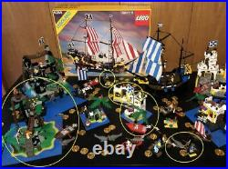 LEGO original Pirate System 5 complete sets from 1989-1991 all with instructions