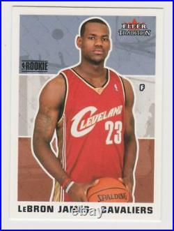 Lebron James 2003-04 Fleer tradition complete set 1-300 All Rookies included