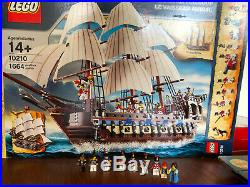 Lego 10210 Pirates Imperial Flagship set original box all characters