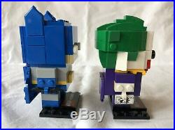Lego 41491 SDCC 2016 Exclusive Brick Headz Batman, Joker Unsealed All Original