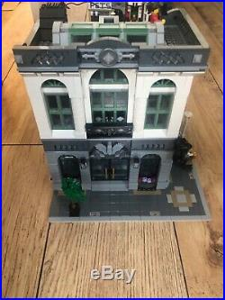 Lego Creator The Brick Bank 10251 (retired) used, all original pieces and box