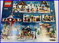 Lego Creator Winter Village Market (10235) Original Box All Pieces & Book