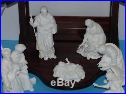 Lenox the Nativity Set White Bone China 24 Figurines & Creche All Original Boxes