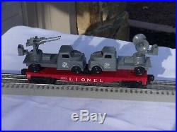 Lionel- O27 No. 1595 Marine Battlefront Special All Original From 1958