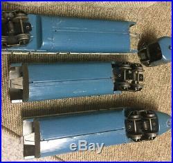 Lionel Pre War the BLUE STREAK O Gauge Passenger Set, All Original