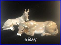 Lladro Nativity Set 8 Pieces Crèche Manger All MINT WithOriginal Boxes 5476-5483