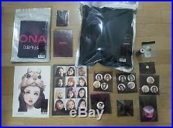 Loona Loonaverse merch item full complete set all MD items ot12