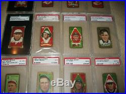 Lot of 1911 T205 Complete Set (215 Different) all Graded SGC or PSA Ty Cobb