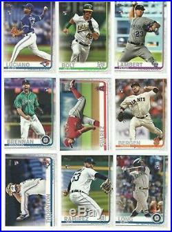 MASSIVE LOT 3000 total 2019 Topps Update Set ALL Rookie Card RC's Listed invest+