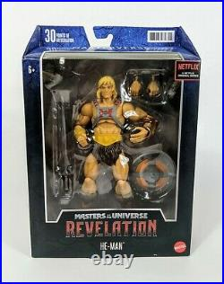 Masters Of The Universe Masterverse Revelation He-man Full Set! All 4 Figures