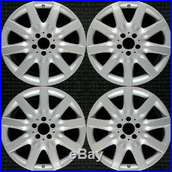 Mercedes-Benz S600 All Silver 18 OEM Wheel Set 2007-2008 2214011902 66474302