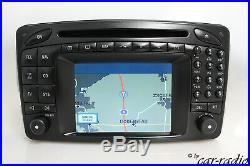 Mercedes Comand 2.0 E/Head Unit W203 C-Klasse Original Navigationssystem 2-DIN