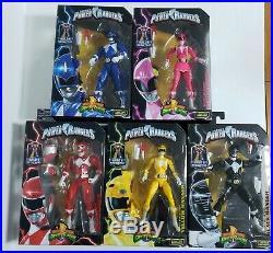 Mighty Morphin Power Rangers Legacy BAF Full Set Moc All 5 Original Rangers Mmpr