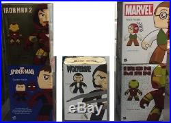 Mighty Muggs MARVEL Lot COMPLETE SET of ORIGINAL FULL SIZE LINE w ALL EXCLUSIVES