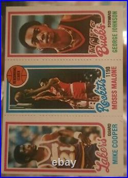 Mint 1980-81 Topps Basketball Near Complete Set (No Bird Magic) All Gradable