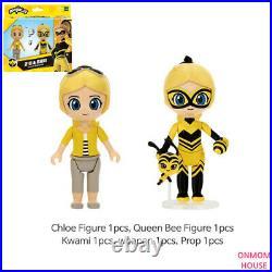 Miraculous Ladybug Character Figure Doll Cat Noir Rena Rouge Queen Bee