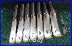 Mizuno MP-4 Iron Set 4-pw Stiff Flex RH All Original
