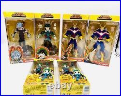 My Hero Academia Set Of 6 Action Figures Tomura Izuku Midoriya All Might DMG MHA