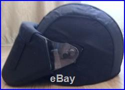 NEW ARMOKOM Bulletproof BLACK Helmet LSHZ-2DT FSB SOBR FULL SET ALL SIZES