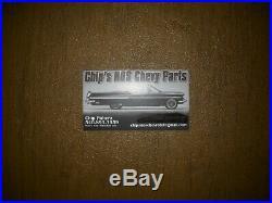 NOS 1962 Impala Coupe or Convertible 6 piece Side Molding Set Original GM