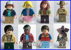 New Lego All 8 Original Minifigures From Set 75810 Stranger Things