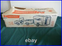 Nylint Vacationer Ford Bronco And Camper Set All Original With Box Pressed Steel