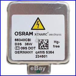 OSRAM D3S 66340CBI Xenarc CoolBlue Intense Xenon Scheinwerfer Lampe NEU