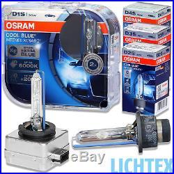OSRAM Xenarc Cool Blue Intense 6000K 20% mehr Licht Xenon Scheinwerfer Lampe NEU