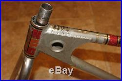 Old School BMX 1981 Mongoose Motomag Frame Set All original Chrome